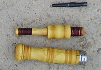 PARTS OF ARAGONESE BAGPIPE